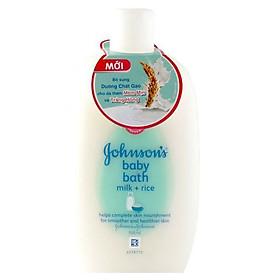 Sữa Tắm Dưỡng Ẩm Johnson's Baby Chứa Sữa Và Tinh Chất Gạo (200ml)