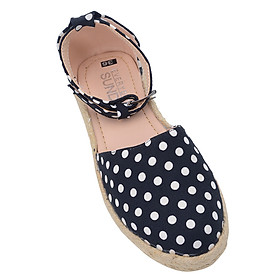 Giày Sandal Nữ Đế Cói Chấm Bi Everyday Is Sunday GB01