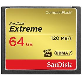 Thẻ Nhớ CF Extreme 800X SanDisk 64GB - 120MB/s