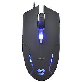 Chuột Chơi Game Có Dây E-BLUE Cobra II EMS151 1600DPI LED 7 Phím - Hàng Chính Hãng
