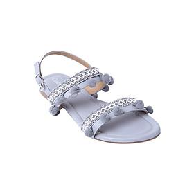 Giày Sandal Nữ Boho Cindydrella CINDY51X - Xám