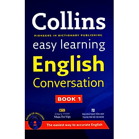 Collins Easy Learning English Conversation (Book 1) - Kèm CD