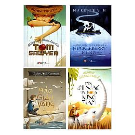 Combo Những Cuộc Phiêu Lưu Của Huckleberry Finn - Những Cuộc Phiêu Lưu Của Tom Sawyer - Đảo Giấu Vàng - Trên Sa Mạc Và Trong Rừng Thẳm