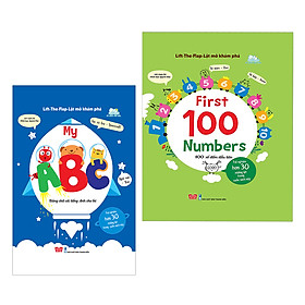 Combo Lift The Flap - Lật Mở Khám Phá: First 100 Numbers, My ABC
