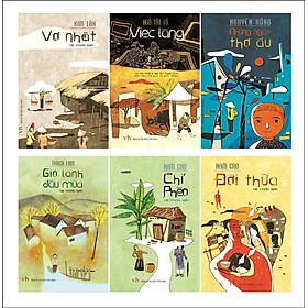Combo Văn Nhân Việt Nam (1930-1945) - Tác Phẩm Tuyển Chọn (Truyện - Kí - Phóng Sự)