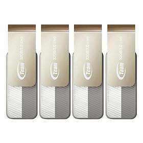 Bộ 4 USB 3.0 32GB Team Group INC C143 - Hàng Chính Hãng