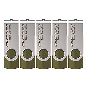 Bộ 5 USB 16GB Team Group INC E902 - Hàng Chính Hãng