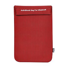 Túi Chống Sốc Ultrabook Ronal TCS03 New - Đỏ