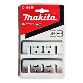 Bộ Lưỡi Bào 82mm Hss Makita D-16346 (2 Cái/Hộp)
