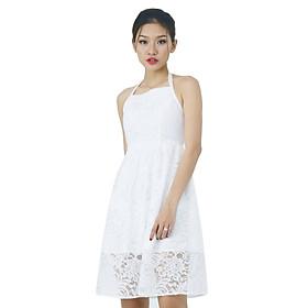 Đầm Yếm Ren La Belle D223 - Trắng