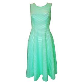 Đầm Vintage Ren CIRINO D_TLL_XANH_005 - Xanh