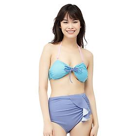 Bikini 2 Mảnh Vicsexy Quần Bèo DB2M-BKN - Xanh