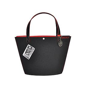 Túi Đeo Vai Nữ SRSLY Tote Bags MILAN - Size Caffe - Đen Đỏ