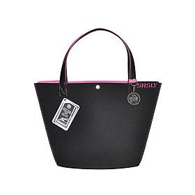 Túi Đeo Vai Nữ SRSLY Tote Bags MILAN - Size Caffe - Đen Hồng