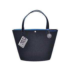 Túi Đeo Vai Nữ SRSLY Tote Bags MILAN - Size Caffe - Đen Xanh Dương