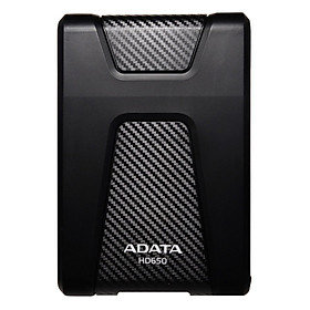 Ổ Cứng Di Động 3.0 1TB Chống Sốc ADATA HD650 + Tặng Cáp Iphone/Ipad