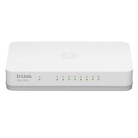 D-Link DGS-1008A - Switch 8 Cổng 10/100/1000M - Hàng Chính Hãng