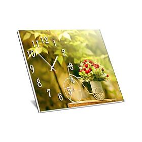 Đồng Hồ Để Bàn Suemall DB140105 – Xe Đạp Hoa