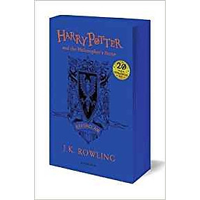 Harry Potter Part 1: Harry Potter And The Philosopher's Stone (Paperback) Ravenclaw Edition (Harry Potter và Hòn đá phù thủy) (English Book)