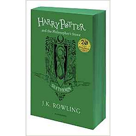 Harry Potter Part 1: Harry Potter And The Philosopher's Stone (Paperback) Slytherin Edition (Harry Potter và Hòn đá phù thủy) (English Book)