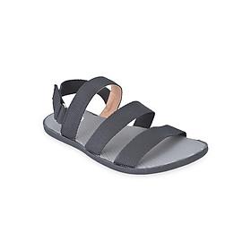 Giày Sandal Nam Quai Ngang Evest A253 - Đen