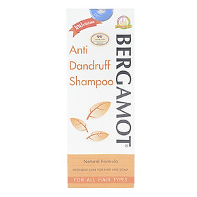 Hình đại diện sản phẩm Dầu Gội Đầu Giúp Ngăn Ngừa Gàu Berganmot Anti-Dandruff Shampoo BA200 (200ml)