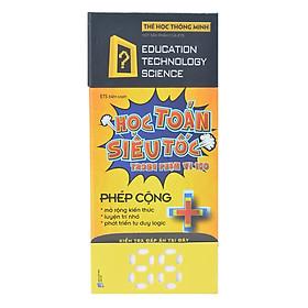 Flash Card - Thẻ Học Toán Siêu Tốc - Phép Cộng