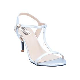 Giày Sandal Cao Gót Shinno 80002 - Bạc