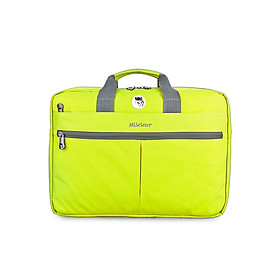 Cặp Đeo Laptop Editor Briefcase Mikkor EB 002 - Xanh Lá Mạ