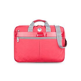 Cặp Đeo Laptop Editor Briefcase Mikkor EB 009 - Đỏ