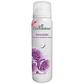 Xịt Khử Mùi Enchanteur Sensation (150ml)