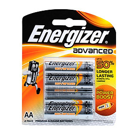 Pin AA Energizer Advanced X91 RP4