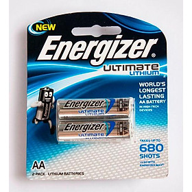 Pin AA Energizer Lithium L91 RP2
