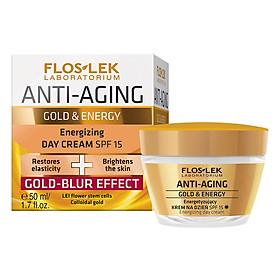 Hình đại diện sản phẩm Kem Chống Lão Hóa Và Dưỡng Da Ban Ngày Floslek Anti Aging Energizing Day Cream Gold Blur SPF15 MF022 (50ml)