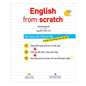 English From Scratch (Kèm CD)