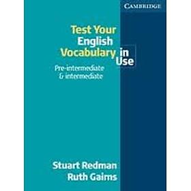 English Vocabulary In Use - Pre-intermediate & Intermediate