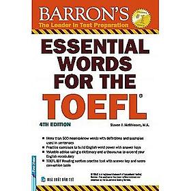 Essential Words For The TOEFL - 4th Edition (Tái Bản 2017)