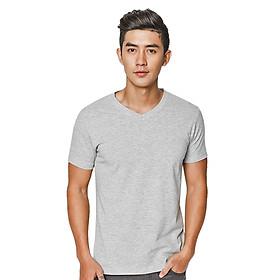 Áo Thun Nam F2 Fashion F2-TSM-05 - Xám Nhạt