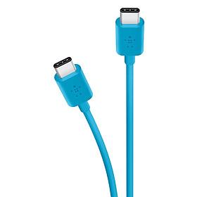 Cáp Sạc Belkin USB-C To USB-C Sync  Charge F2CU043bt06 1.8m - Hàng Chính Hãng
