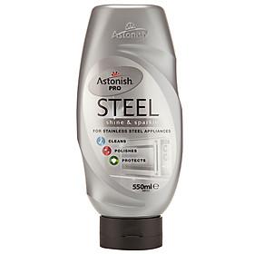 Chất Tẩy Rửa Bề Mặt Kim Loại Chuyên Nghiệp Astonish Pro Steel 210165 (550ml)