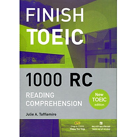 Finish Toeic Reading Comprehension