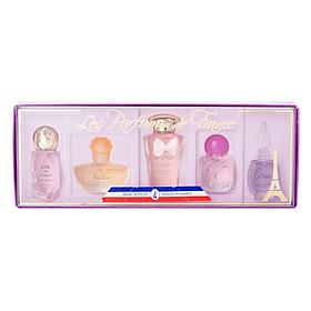 Bộ 5 Chai Nước Hoa Les Perfums De France Charrier Parfums LF5