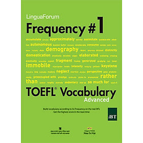LinguaForum Frequency # 1 Toefl Vocabualary (Kèm 1CD)