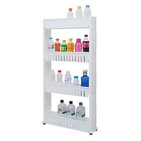 Kệ Để Đồ 4 Tầng Có Bánh Xe Storage Shelves G000103