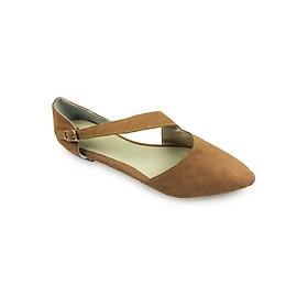 Sandal Bệt Bít Mũi G Alanti G14-521-161-B (Bò)