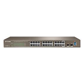 Switch Rackmount 24 Ports Gigabit L2 Managed IP-COM G3224T - Hàng Chính Hãng