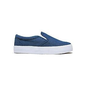Giày Slip On Nữ D&A L1603 - Xanh Bò