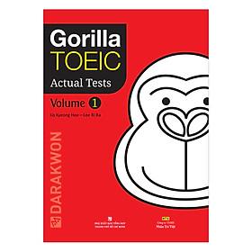 Gorilla Toeic Actual Tests - Volume 1