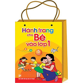 Bộ Túi Hành Trang Cho Bé Vào Lớp 1 (Bộ 6 Cuốn) - Tái Bản