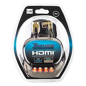 Cáp Tín Hiệu HDMI Techmate HD-1402 3D 1.4v - Hàng Chính Hãng